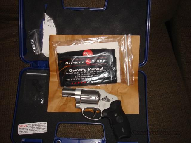 Smith and Wesson 642 Airweight with Crimson Trace  Guns > Pistols > Smith & Wesson Revolvers > Performance Center