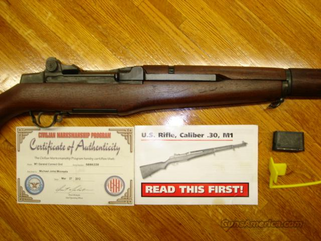 Springfield M1 Garand in Cosmoline from CMP  Guns > Rifles > Springfield Armory Rifles > M1 Garand