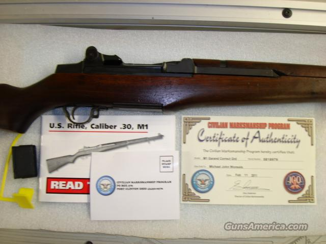 Springfield M1 Garand CMP Cleaned out of Cosmoline  Guns > Rifles > Military Misc. Rifles US > M1 Garand