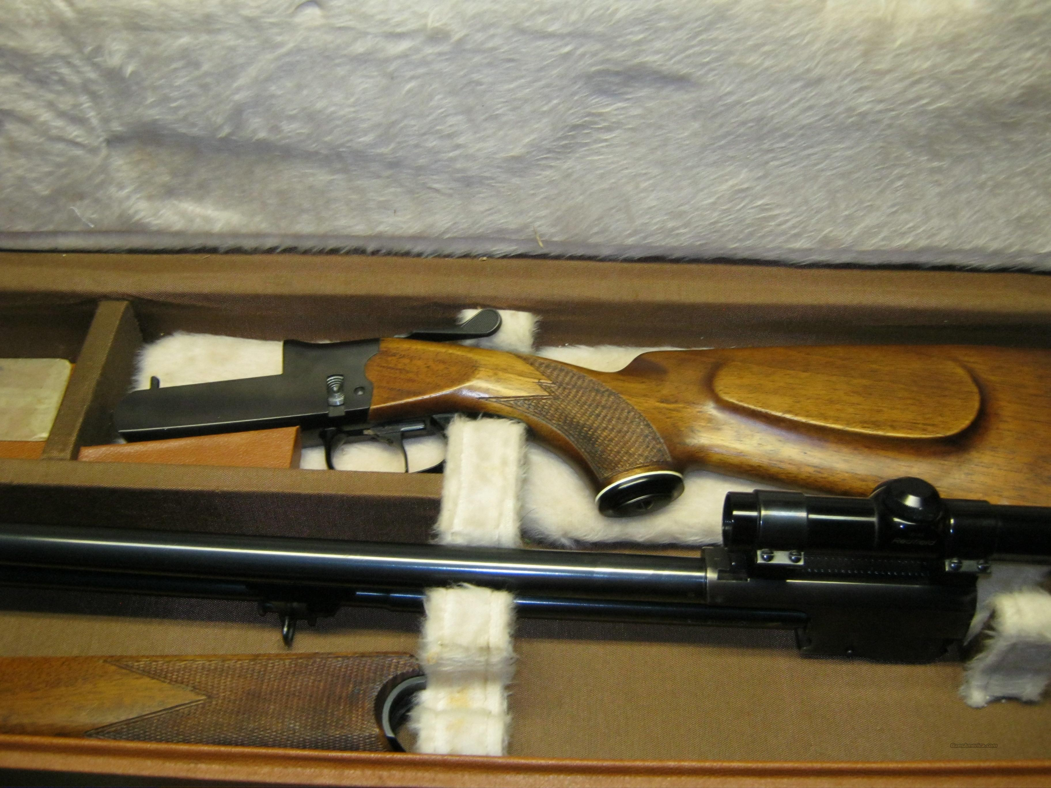 Flaig's combo shotgun rifle  Guns > Shotguns > F Misc Shotguns