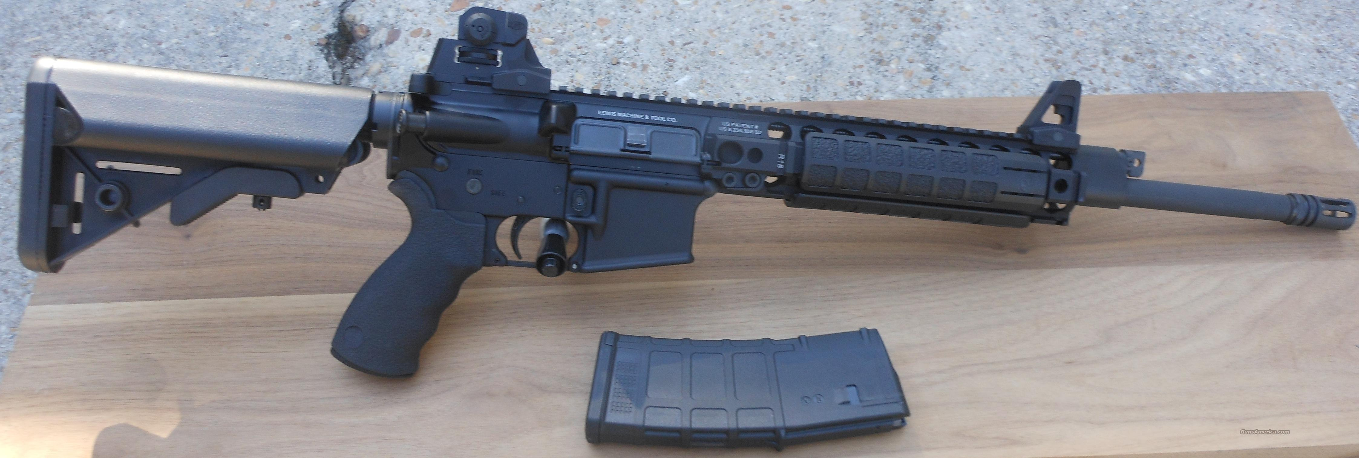 LMT MRP PISTON CQBPS16 5.56 AR15 M4 .223  Guns > Rifles > AR-15 Rifles - Small Manufacturers > Complete Rifle
