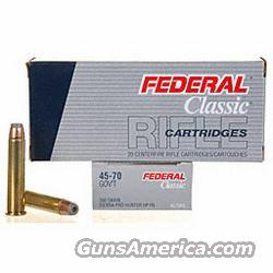 .45-70 Government Federal Ammunition - 100 rounds  Non-Guns > Ammunition