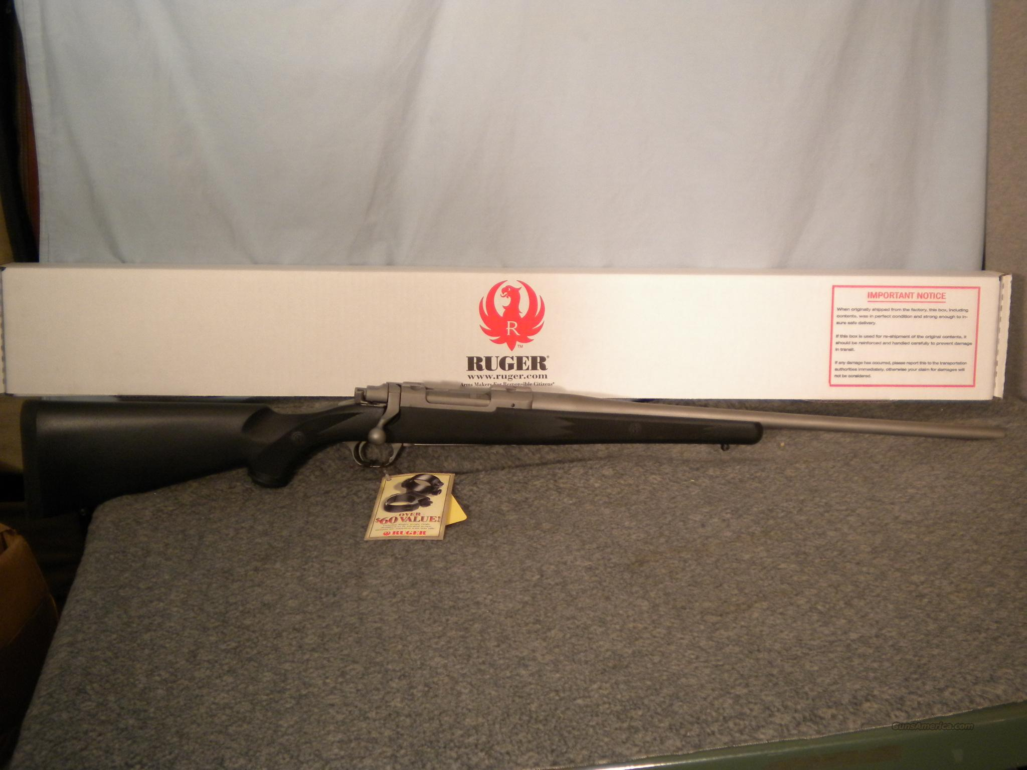 Ruger M77 77 Hawkeye Stainless .358 Win Factory New 07181  Guns > Rifles > Ruger Rifles > Model 77