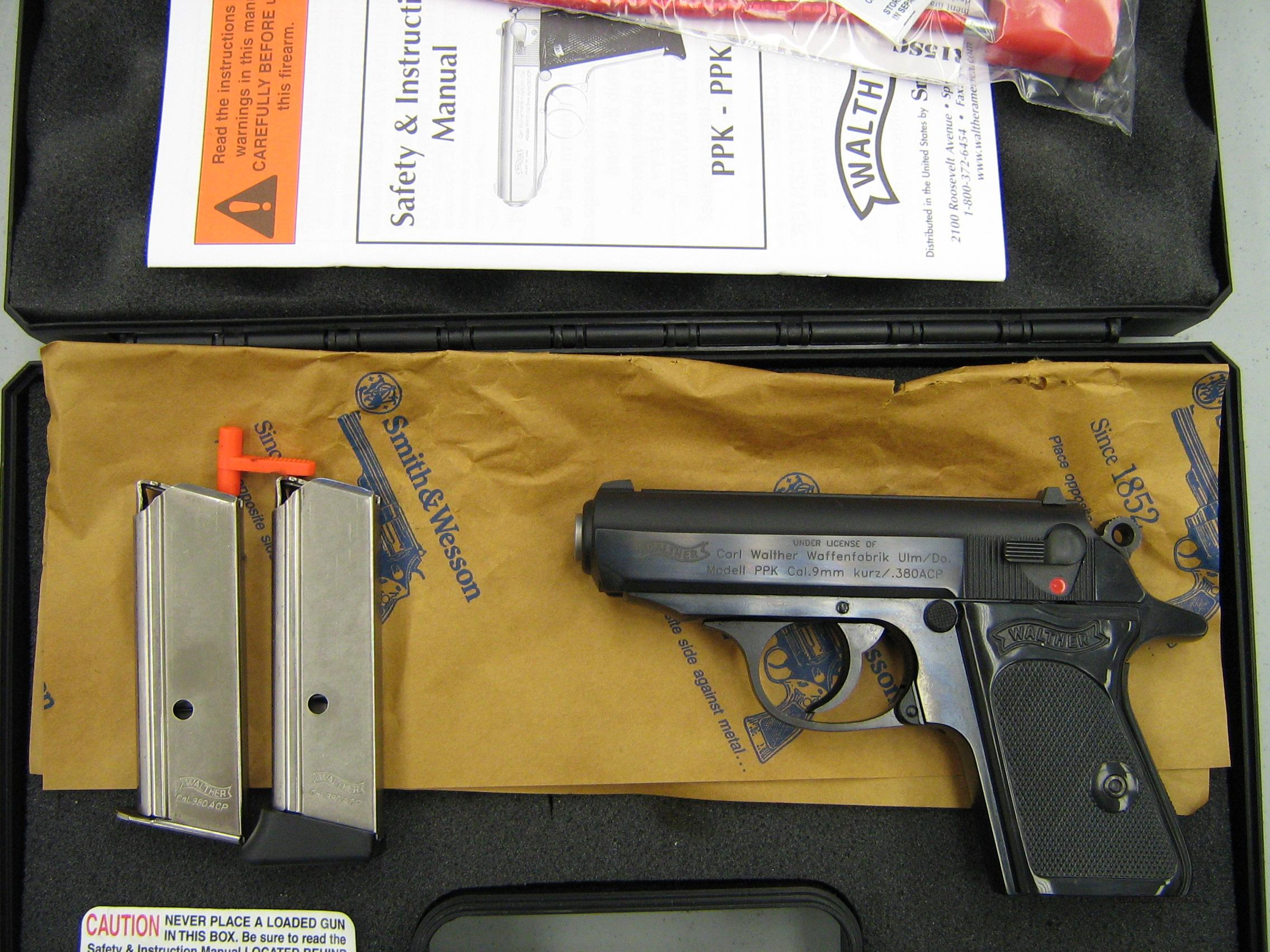 Walther PPK .380 ACP  Guns > Pistols > Walther Pistols > Post WWII > PPK Series