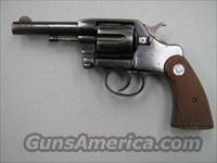 "Colt DA 38 ""Navy""  Colt Double Action Revolvers- Pre-1945"