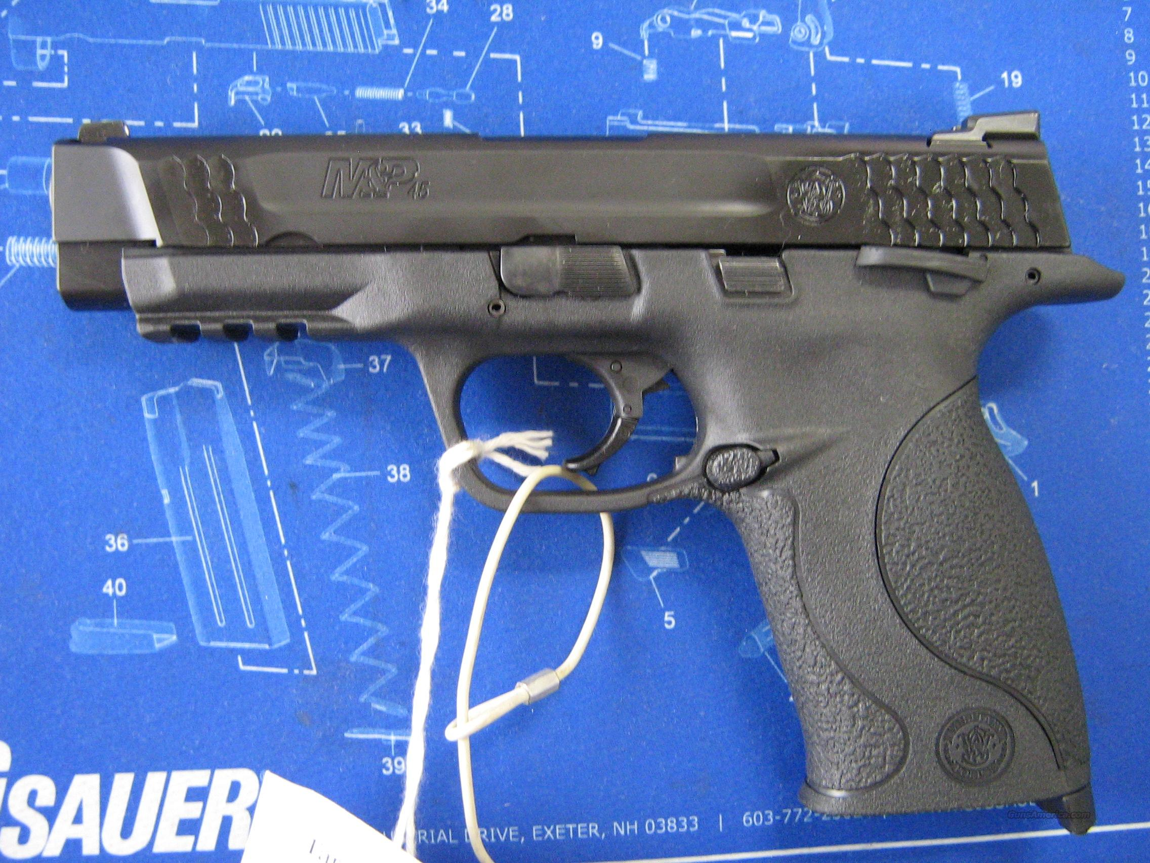 SMITH & WESSON M&P45  Guns > Pistols > Smith & Wesson Pistols - Autos > Polymer Frame