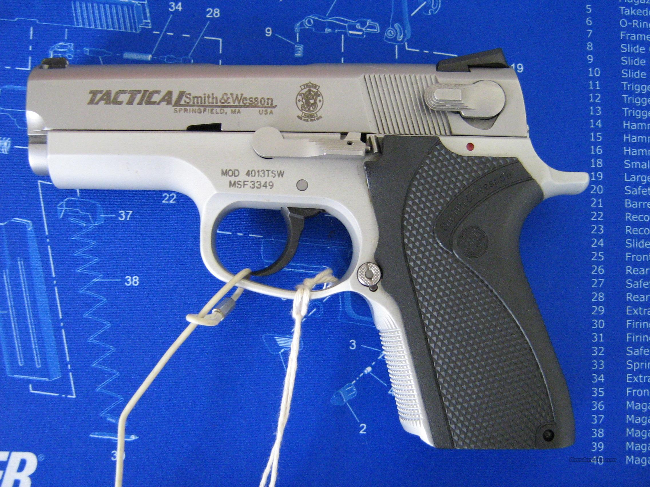 S&W model 4013TSW Tactical  Guns > Pistols > Smith & Wesson Pistols - Autos > Alloy Frame