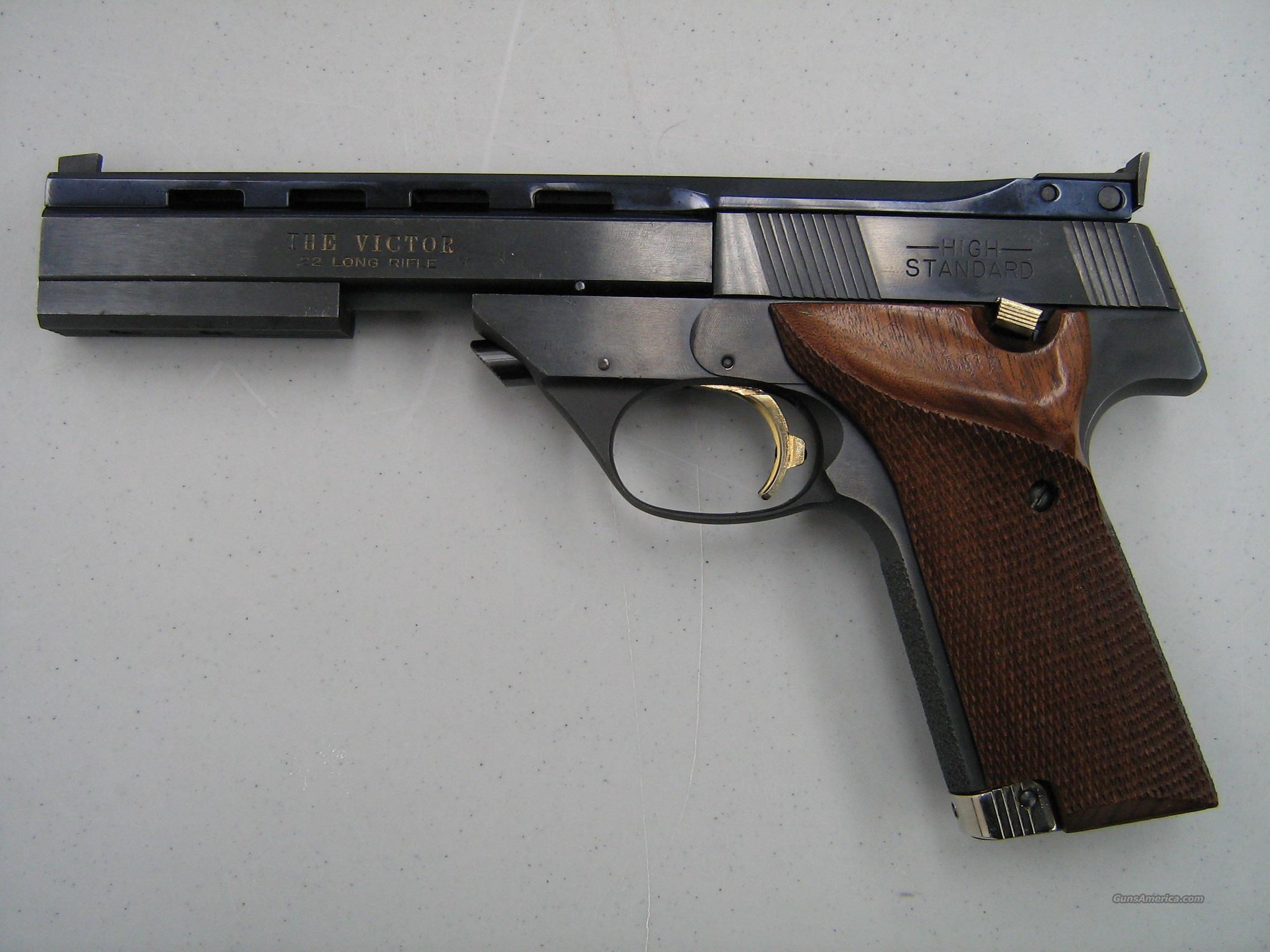 The Victor .22 LR by High Standard  Guns > Pistols > High Standard Pistols