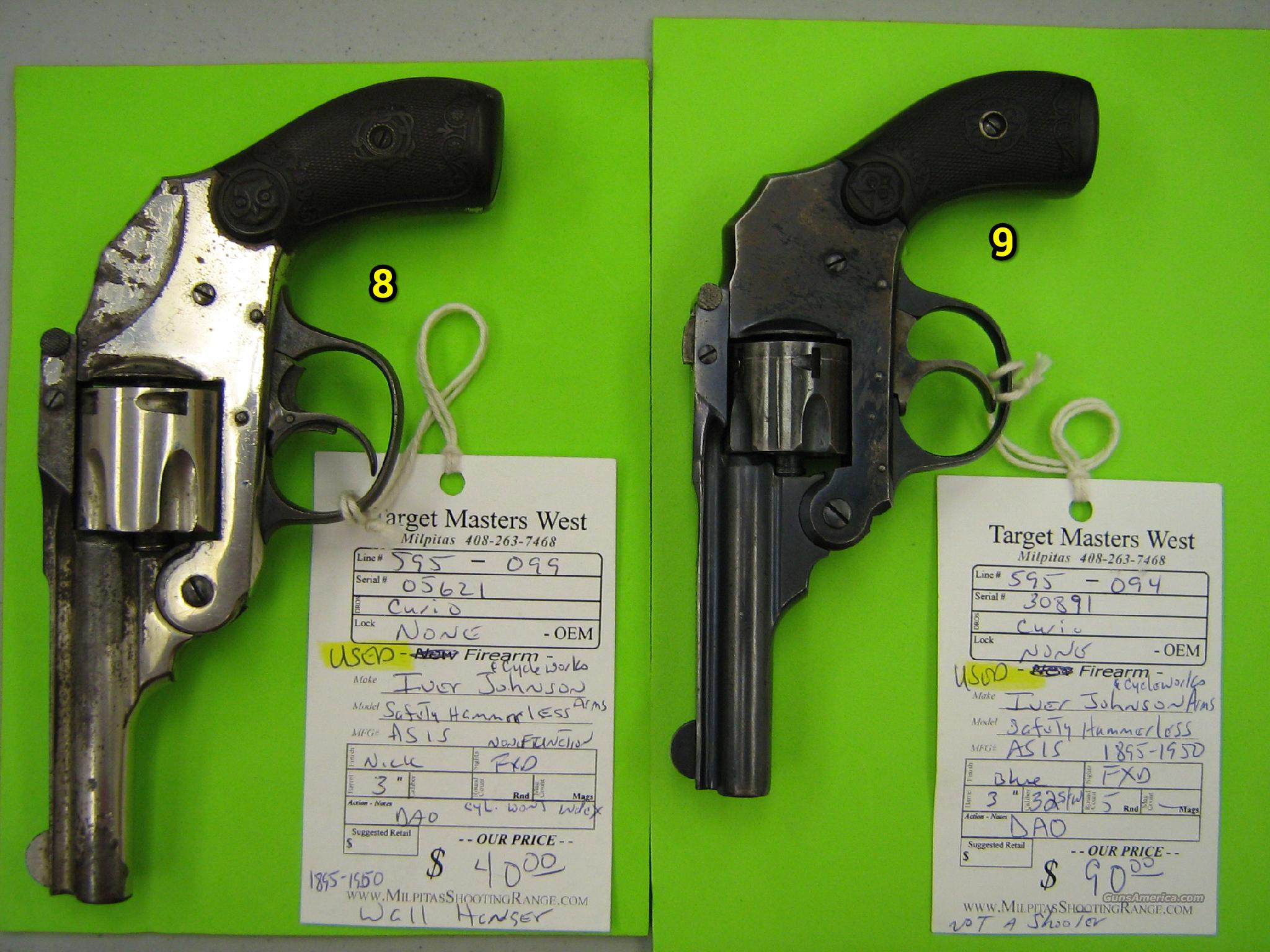 Iver Johnson green set  Guns > Pistols > Iver Johnson Pistols