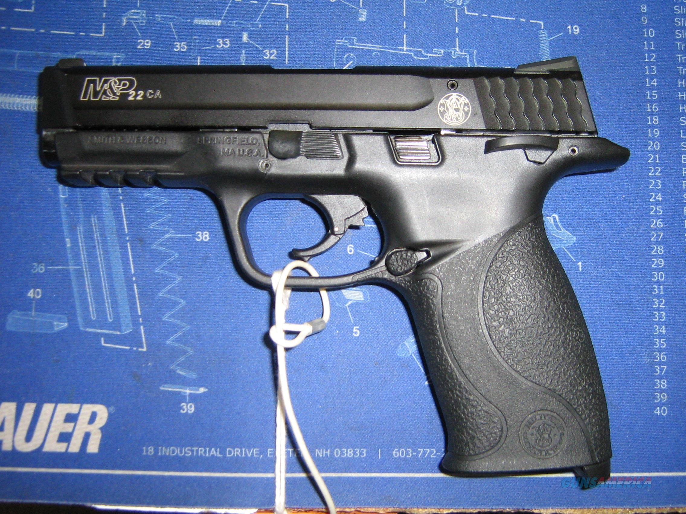 SMITH & WESSON M&P 22CA  Guns > Pistols > Smith & Wesson Pistols - Autos > .22 Autos