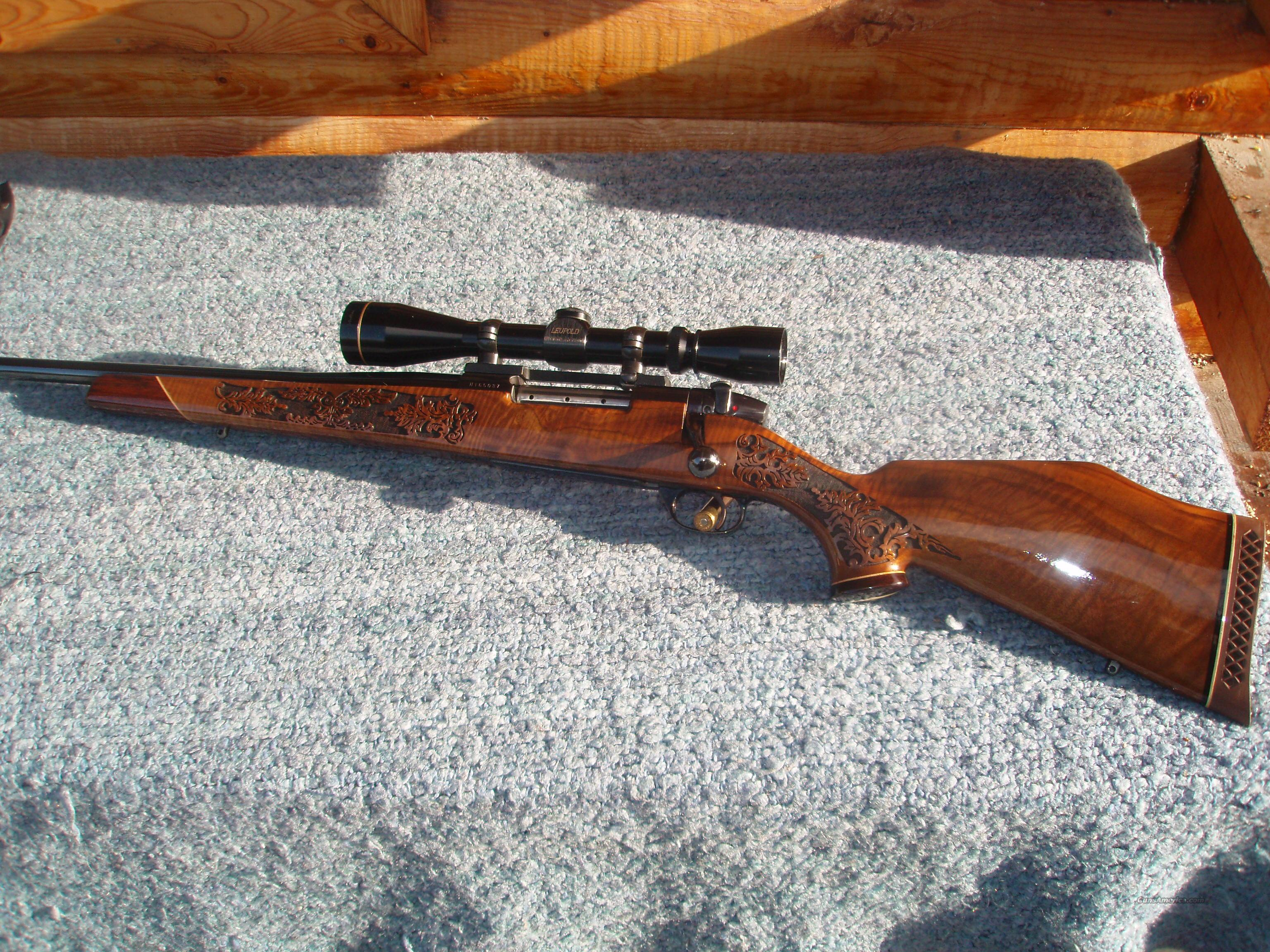 Left Hand Weatherby Lazermark 340 Wby  Guns > Rifles > Weatherby Rifles > Sporting