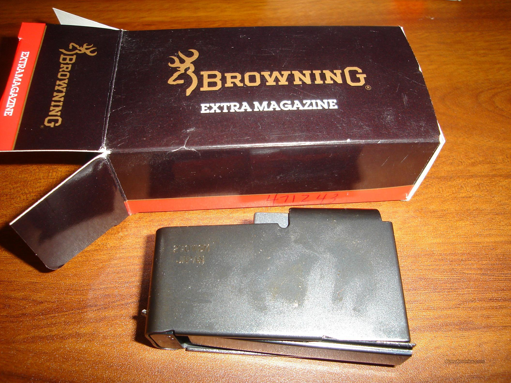NEW Browning A-Bolt 270 WSM Magazine  Non-Guns > Magazines & Clips > Rifle Magazines > Other