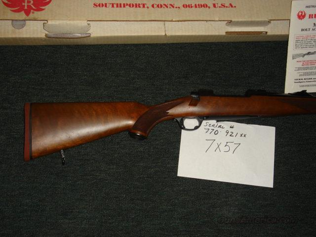 77 RSI 7x57 early NIB  Guns > Rifles > Ruger Rifles > Model 77