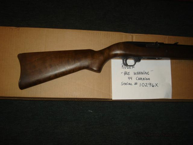 .44 Carbine Fiddleback wood pre warning!  Guns > Rifles > Ruger Rifles > M44/Carbine