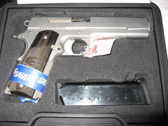 Sig Sauer 1911 45 ACP Stainless  Guns > Pistols > Sig - Sauer/Sigarms Pistols > 1911