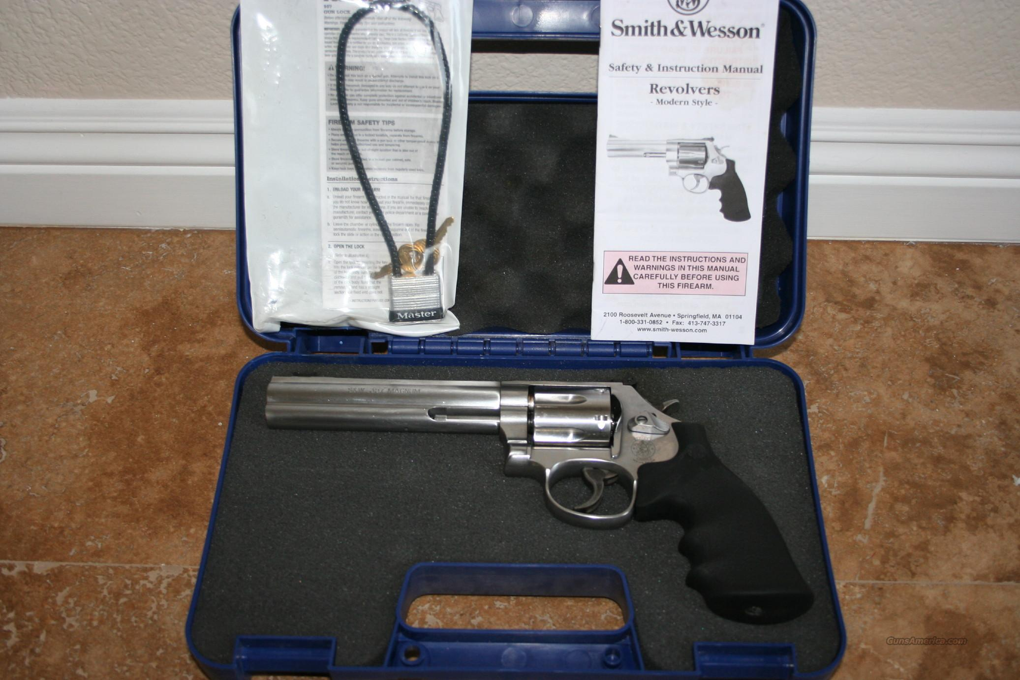 2007 Smith and Wesson 357 MAG/ .38P  Guns > Pistols > Smith & Wesson Revolvers > Full Frame Revolver