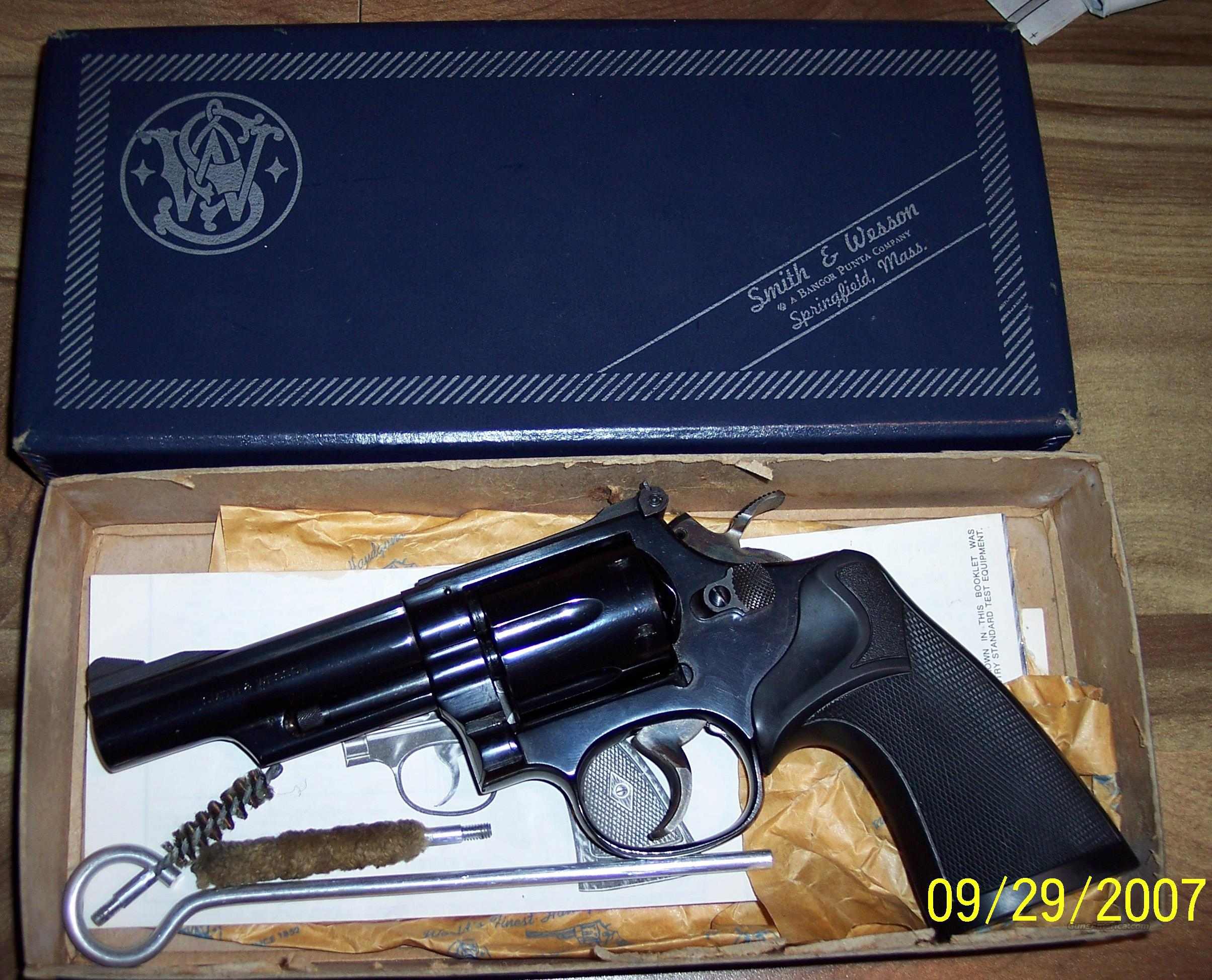 smith & wesson model 19-4  Guns > Pistols > Smith & Wesson Revolvers > Full Frame Revolver