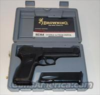 Browning BDM  9mm Luger Double action  Guns > Pistols > Browning Pistols > Other Autos
