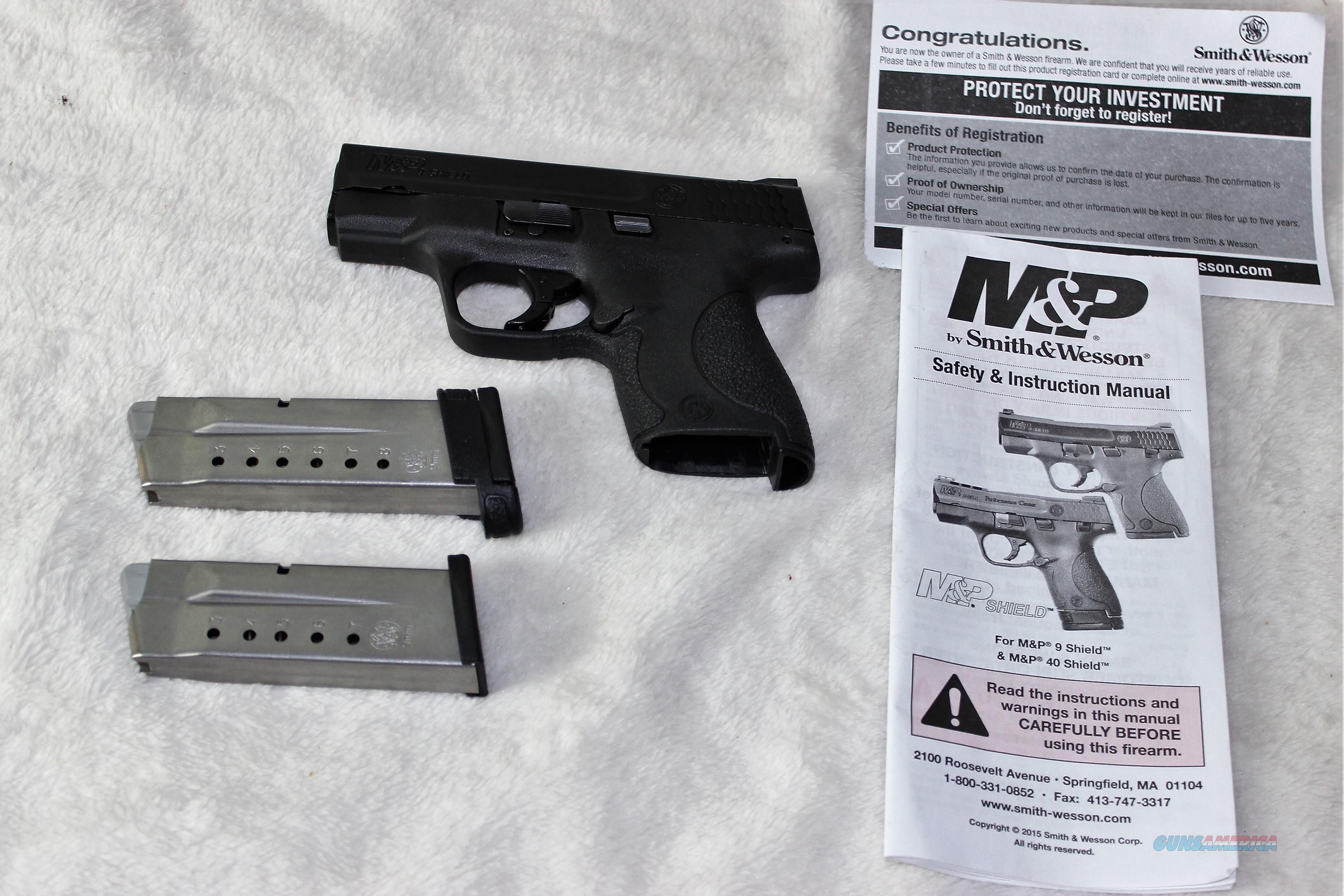 Smith & Wesson M&P 9 Shield 9mm  Guns > Pistols > Smith & Wesson Pistols - Autos > Shield
