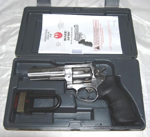 RUGER GP100 Stainles Steel .357 magnum revolver  Guns > Pistols > Ruger Double Action Revolver > Security Six Type