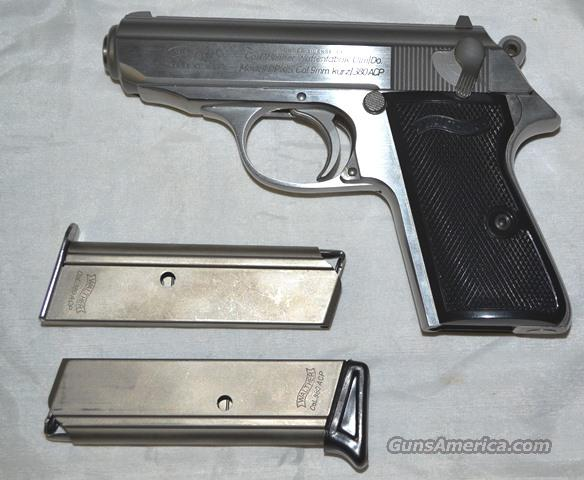 WALTHER PPK/S Stainless steel LIKE NEW .380  Guns > Pistols > Walther Pistols > Post WWII > PPK Series