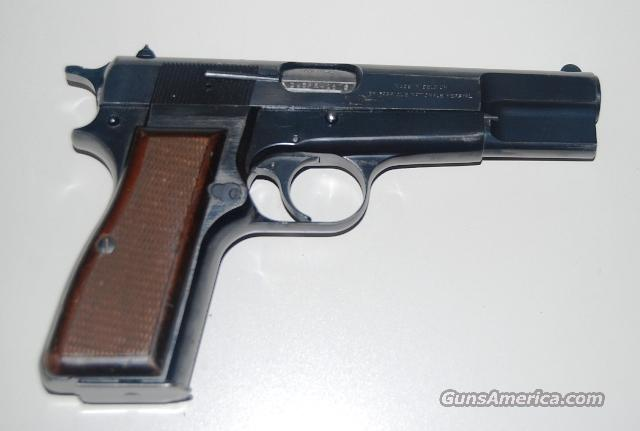 1987 Browning Hi-Power Belgium FN Herstal  Guns > Pistols > Browning Pistols > Hi Power