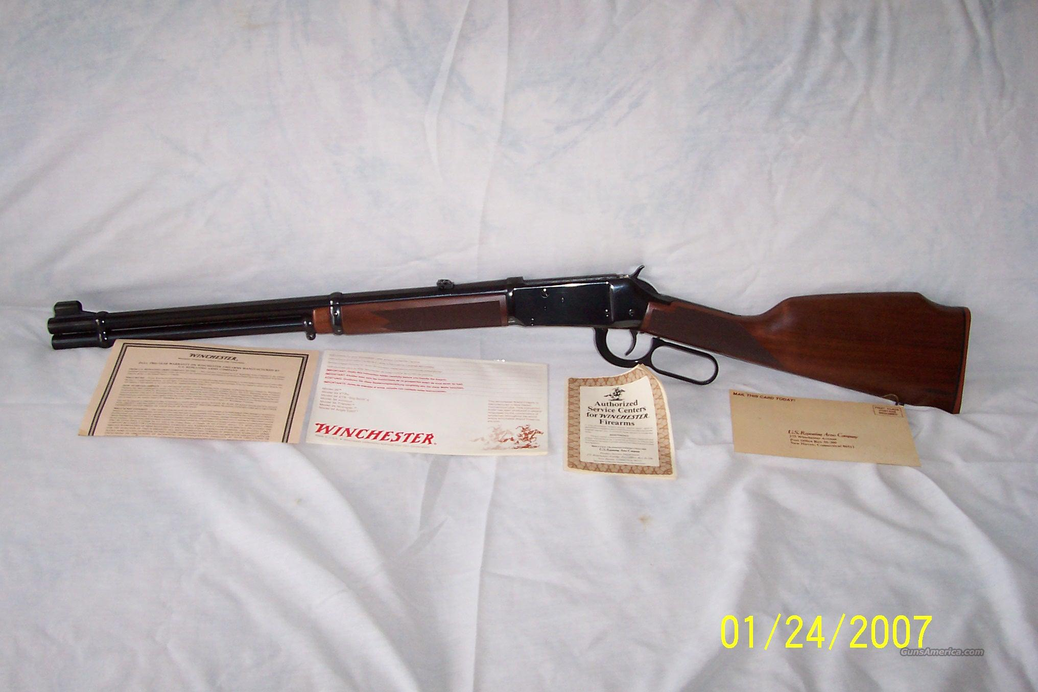 WINCHESTER 94AE BIG BORE 356 WINCHESTER  Guns > Rifles > Winchester Rifles - Modern Lever > Model 94 > Post-64