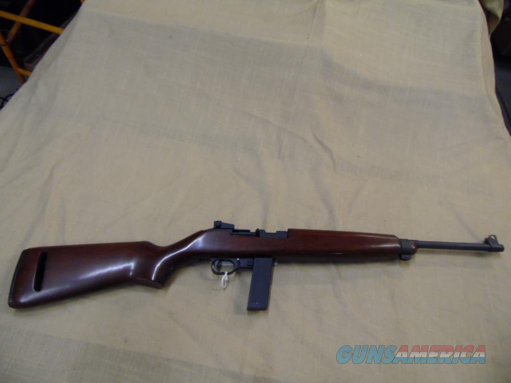 IVER JOHNSON U.S. CARBINE 22 LONG RIFLE  Guns > Rifles > Iver Johnson Rifles