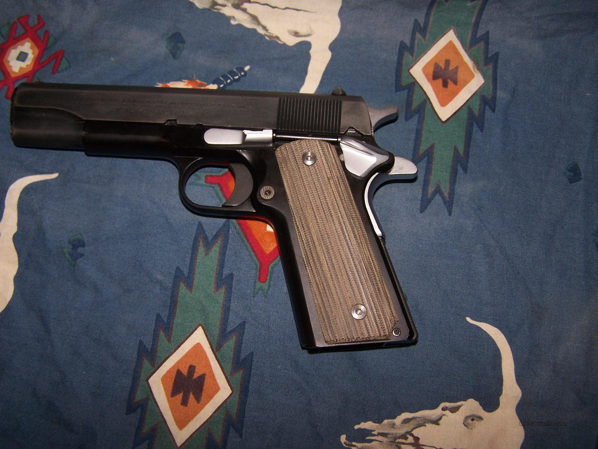 1911 MICARTA FULLSIZE GRIPS  Non-Guns > Gun Parts > 1911