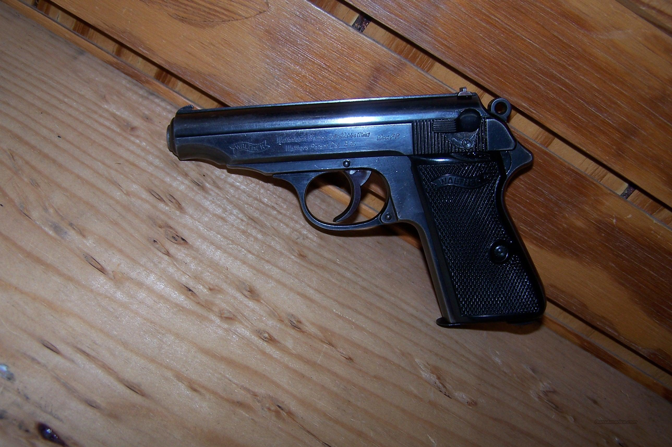 PRE WAR WALTHER PP BOTTOM MAG RELEASE  Guns > Pistols > Walther Pistols > Pre-1945 > PP