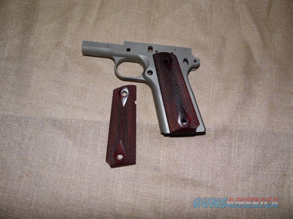 DELUXE 1911 WOOD FULL SIZE AMBI CUT  Non-Guns > Gunstocks, Grips & Wood