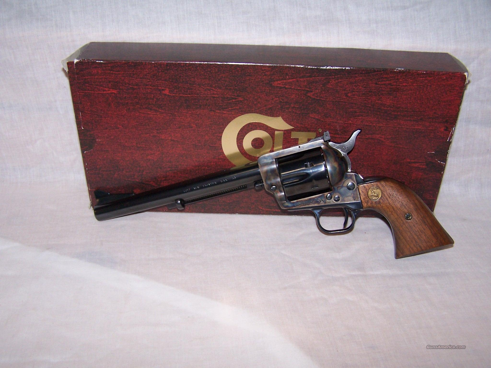 COLT NEW FRONTIER   45 COLT  Guns > Pistols > Colt Single Action Revolvers - 3rd Gen.