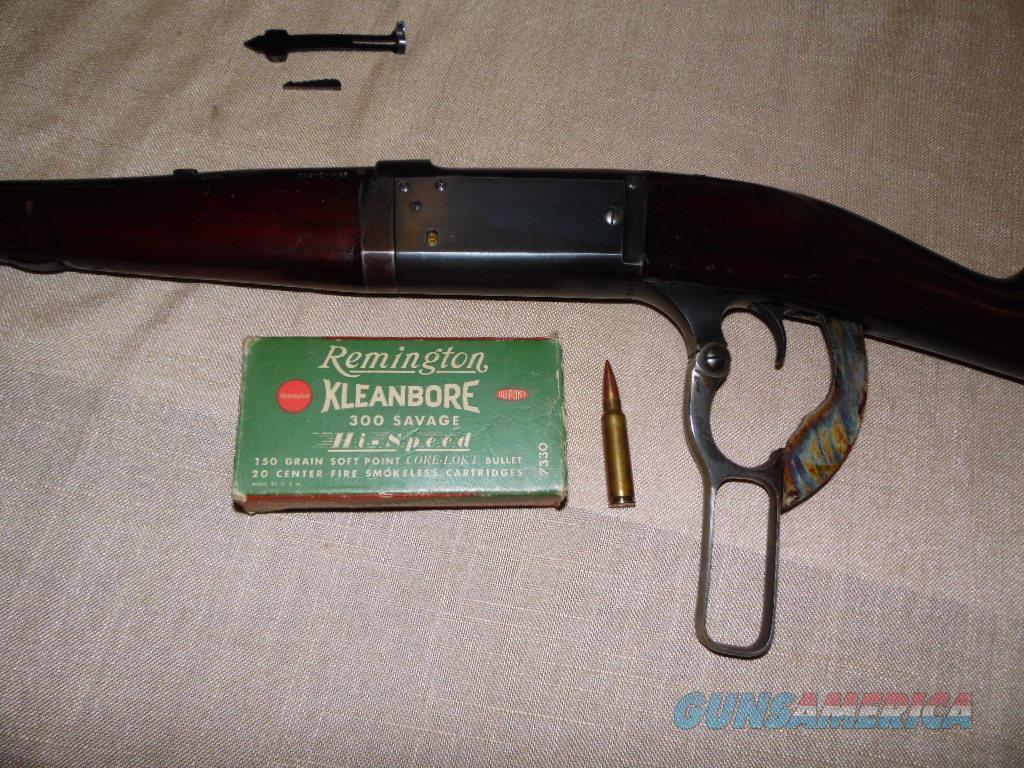 SAVAGE 99 FEATHER WEIGHT 300 SAVAGE 1926 TAKEDOWN  Guns > Rifles > Savage Rifles > Model 95/99 Family