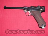 Luger 1923 Commercial 9mm 6IN barrel  Guns > Pistols > Luger Pistols