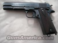 Colt  1911 US ARMY, 1913MFG  Colt Automatic Pistols (1911 & Var)
