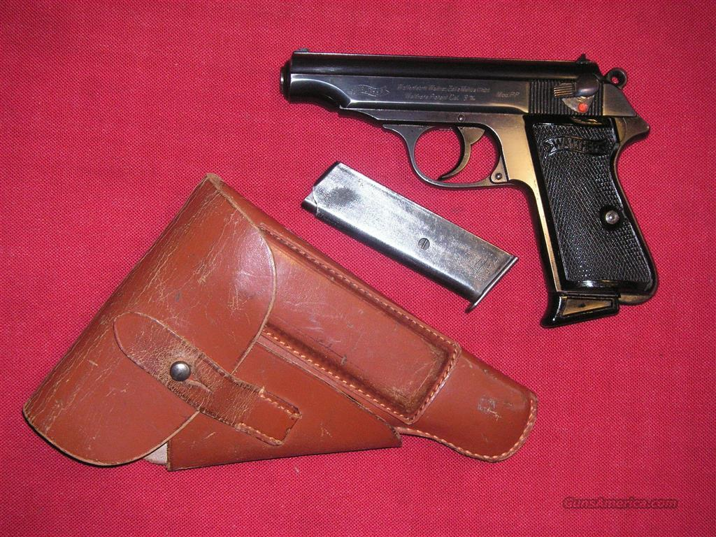 WALTHER PP NAZI TIME CAL. 9mm/380acp  Guns > Pistols > Walther Pistols > Pre-1945 > P-38