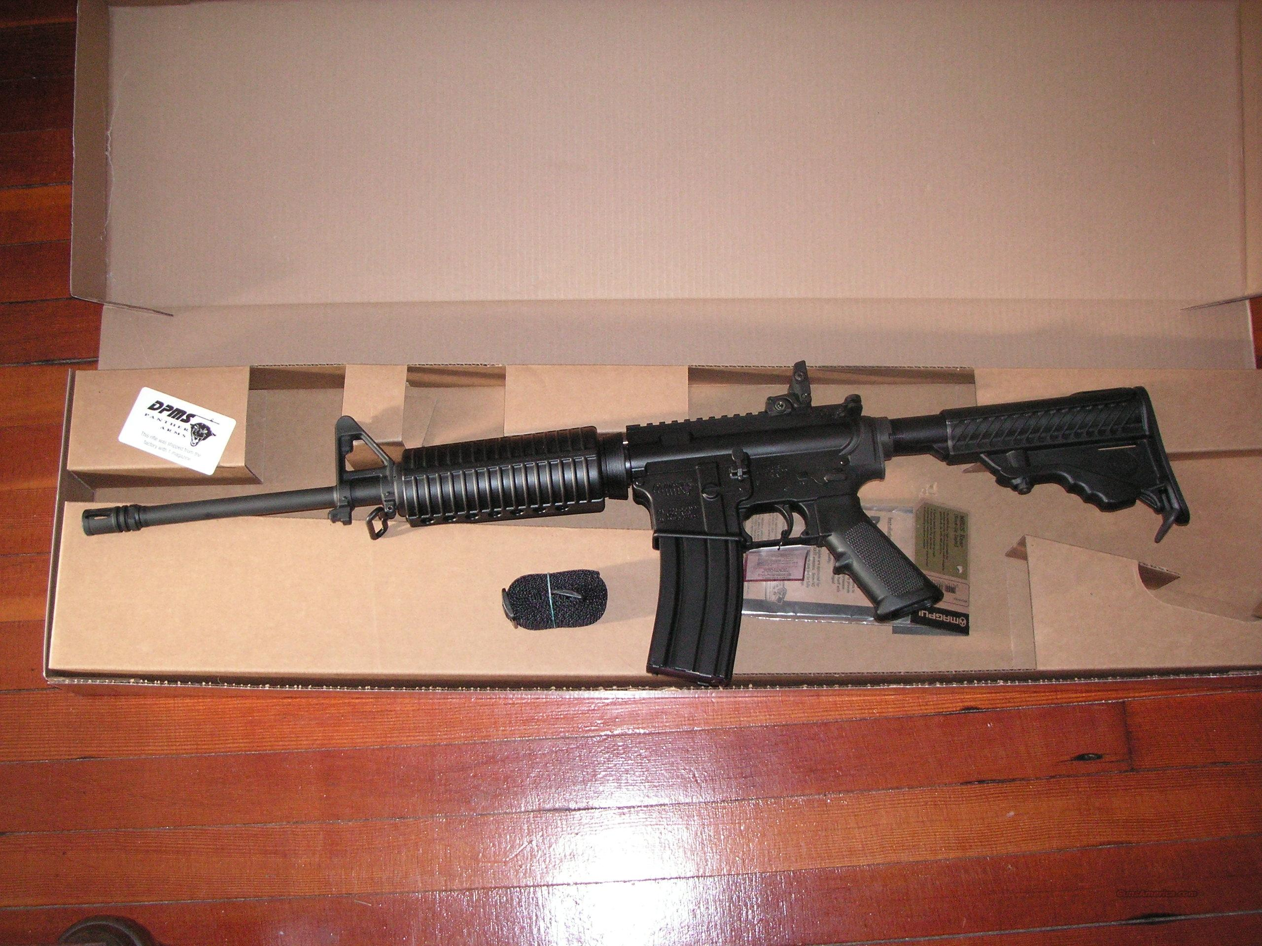 DPMS A15 brand new rifle cal. .223 Rem.  Guns > Rifles > AR-15 Rifles - Small Manufacturers > Complete Rifle