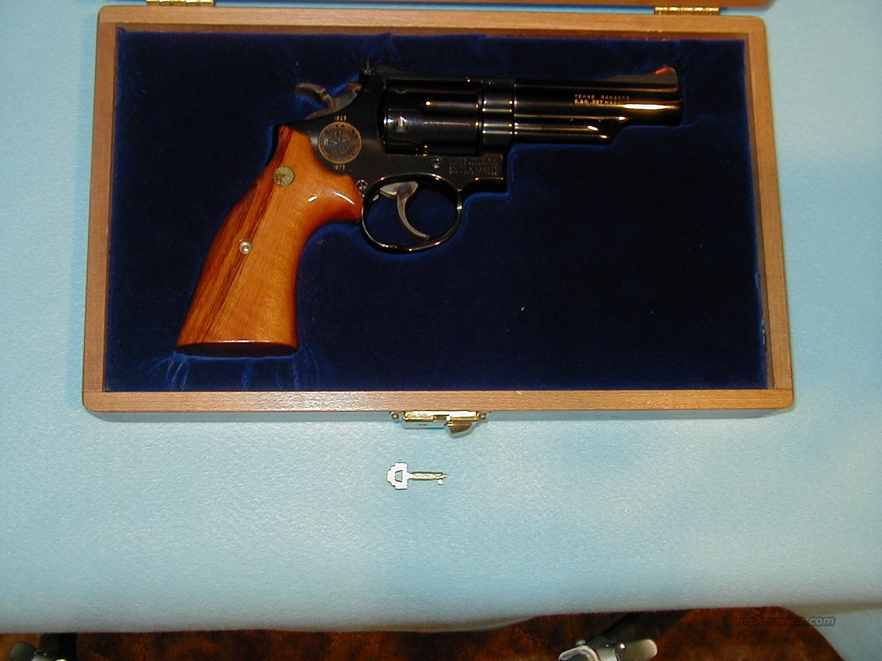 Texas Ranger Commemorative  Guns > Pistols > Smith & Wesson Revolvers > Full Frame Revolver