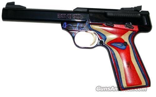 Browning Buckmark Splash Red White Blue  Guns > Pistols > Browning Pistols > Buckmark
