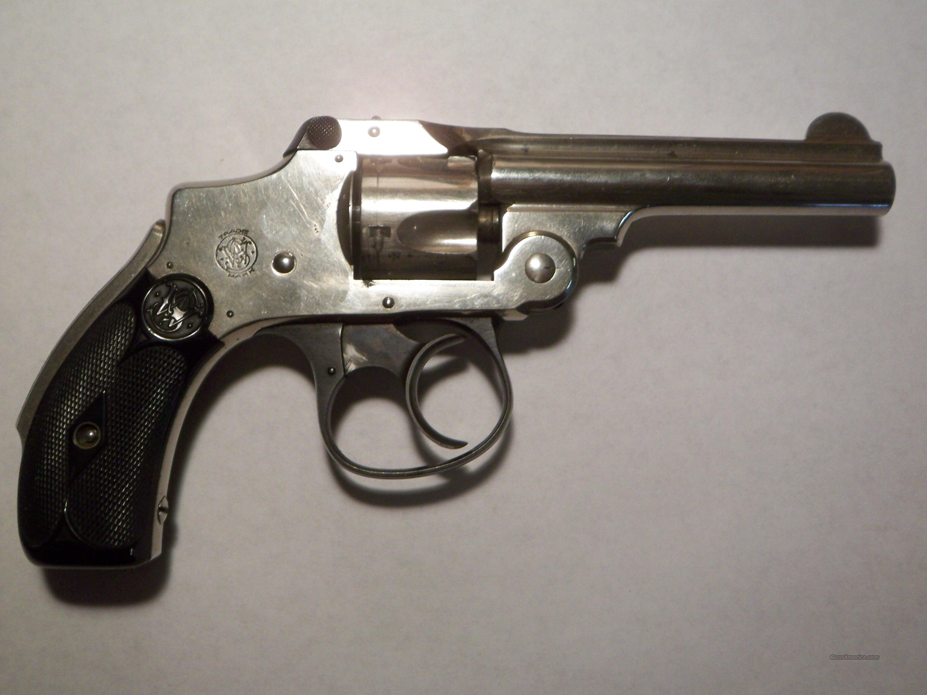 Smith&Wesson .32 Safety Hammerless Third Model  Guns > Pistols > Smith & Wesson Revolvers > Pre-1899