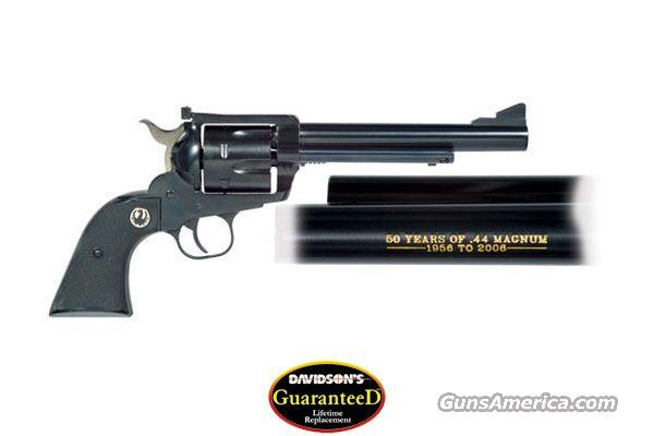 Ruger Blackhawk 50th Anniversary NIB FREE SHIPPING  Guns > Pistols > Ruger Single Action Revolvers > Blackhawk Type
