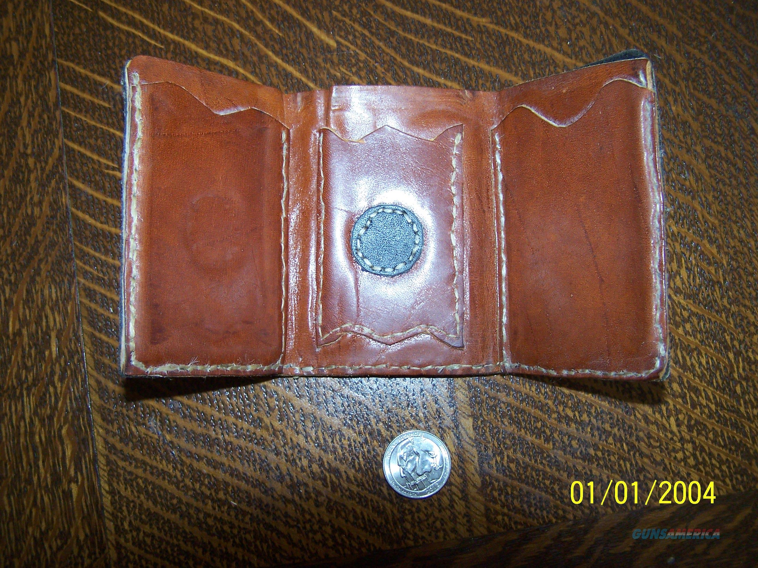 Hand Crafted Wallet  Non-Guns > Miscellaneous