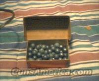 .457 lead round balls  Non-Guns > Black Powder Muzzleloading