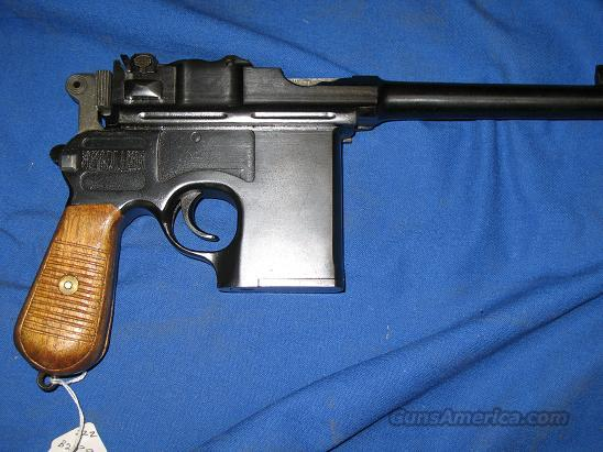 China Broomhandle c-96 .45 acp with stock!  Guns > Pistols > Military Misc. Pistols Non-US