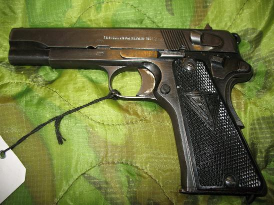 WWII Nazi Marked P-35 Radom with holster  Guns > Pistols > Military Misc. Pistols Non-US