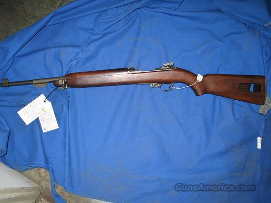 WW II IBM/Auto Ordinance M1 Carbine  Guns > Rifles > Military Misc. Rifles US > M1 Carbine
