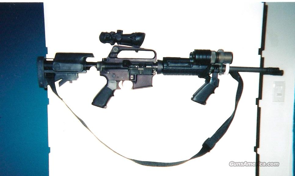 BUSHMASTER CAR-15 A2 PREBAN WITH ACOG                                                                                                                            Guns > Rifles > AR-15 Rifles - Small Manufacturers > Complete Rifle