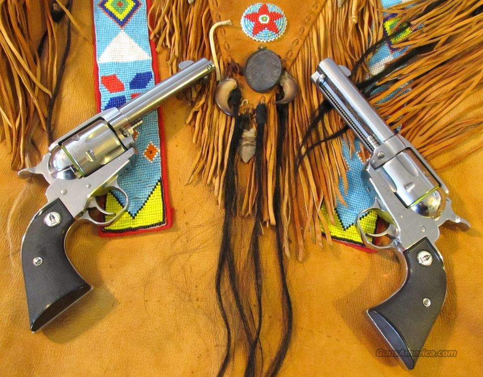 SASS Ruger Vaquero consecutive serial numbered set.   Guns > Pistols > Ruger Single Action Revolvers > Cowboy Action
