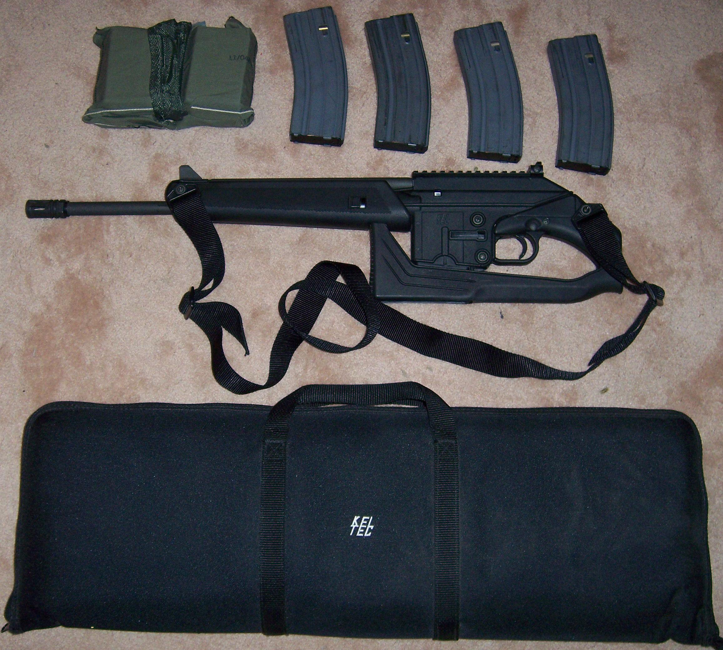 PRICE LOWERED - Kel Tec SU16C .223Rem/5.56NATO, Case, Sling, Flash Suppressor  Guns > Rifles > Kel-Tec Rifles