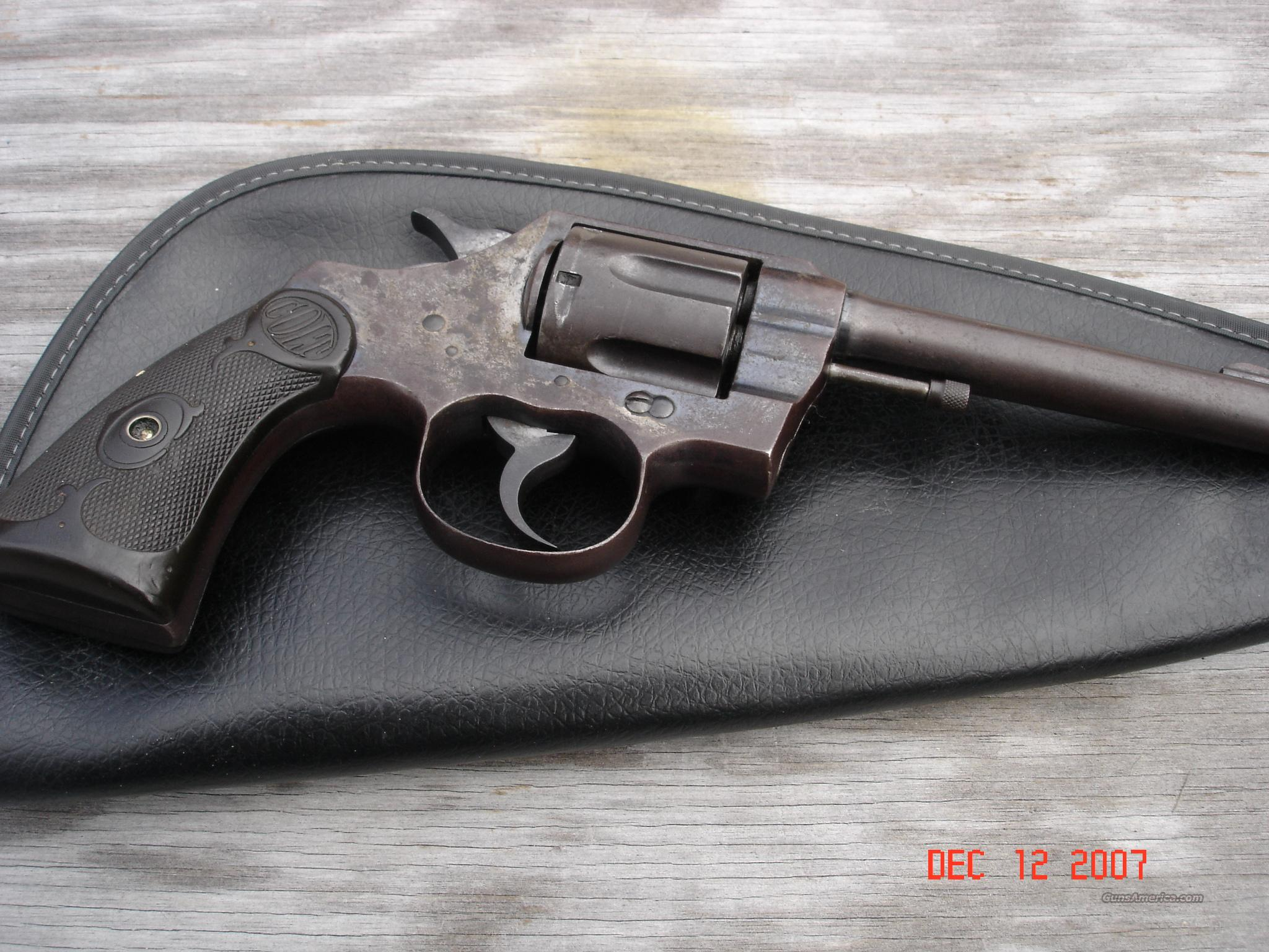 Colt Army Special 32/20 Cal.  Guns > Pistols > Colt Double Action Revolvers- Pre-1945